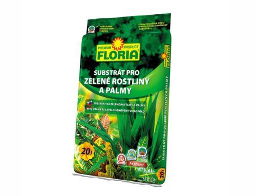 Substrát na zelené rastliny a palmy
