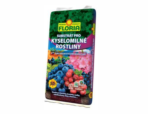 Substrát na kyslomilné rastliny